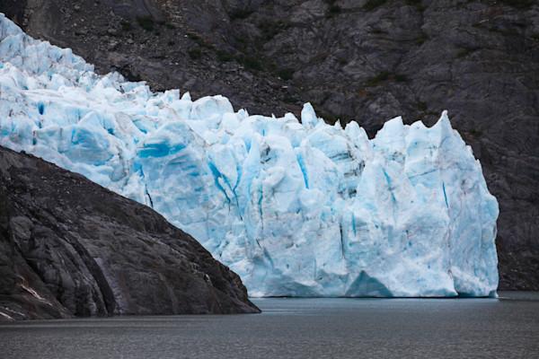 portage-glacier, calving, portage, alaska