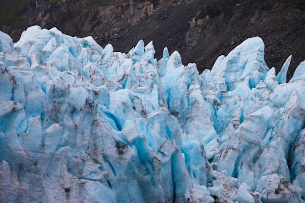 portage-glacier, alaska, calving-glacier