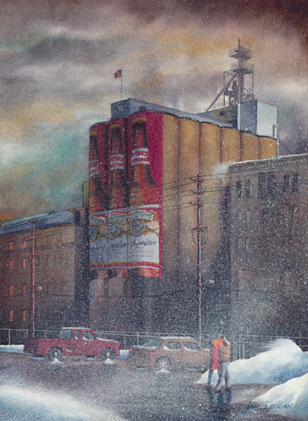 Have a Cold One fine art print by Jim Dolan.