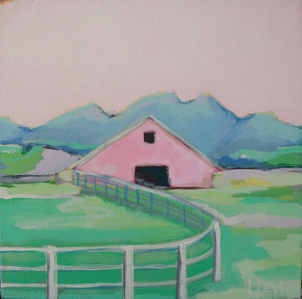 NEW!!! BARN BLUSH 12 X 12