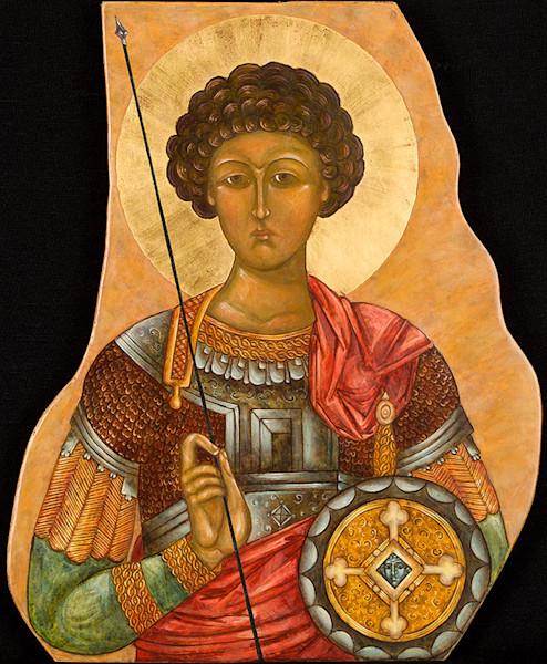 Saint George, Great Martyr fine art print by Katherine de Shazer.