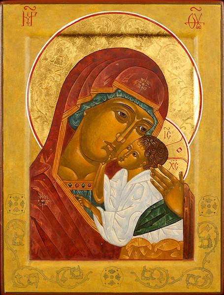 Mother of Vladimir fine art print by Katherine de Shazer.