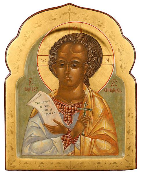 Christ Emmanuel fine art print by Katherine de Shazer.