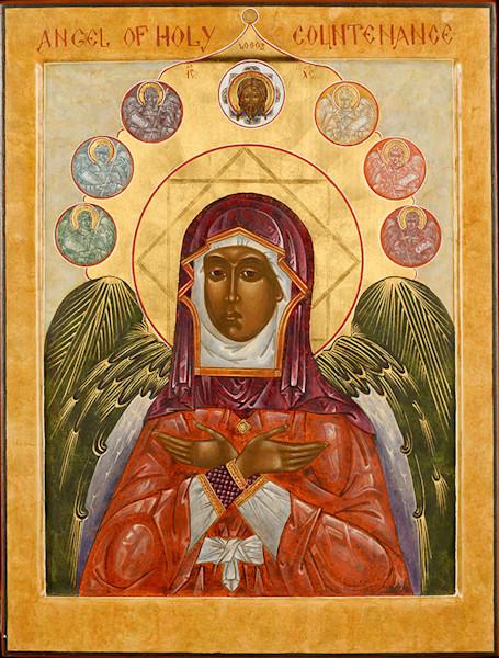 Angel of Holy Countenance fine art print by Katherine de Shazer.