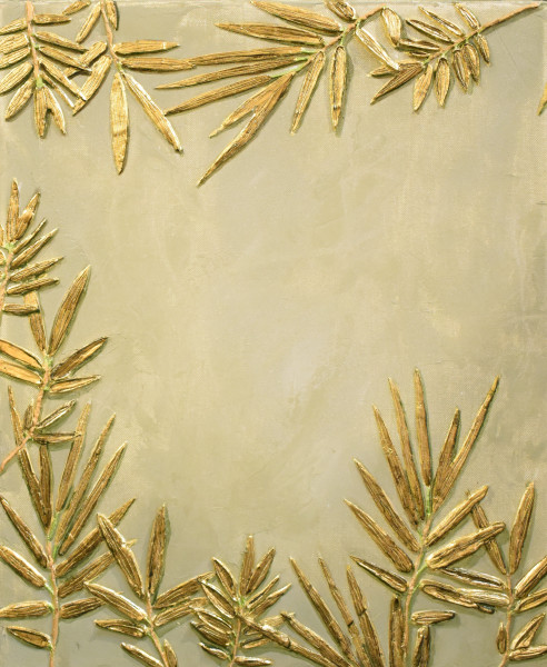Original Bas Relief Art of Plants and Flowers for Sale | A Fine Finish Studio by Katie Fitzgerald