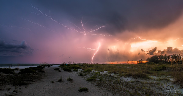 Siesta Key Lightning Show