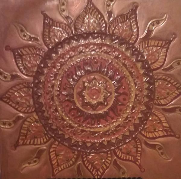 Demon Destroyer Sun Mandala Repoussê