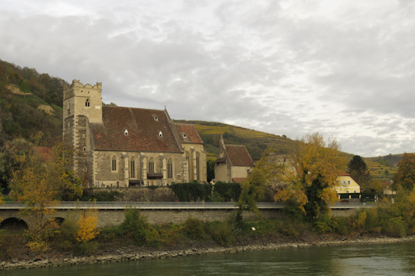 Church along the Danube River at Krems, Austria  IMG 1204