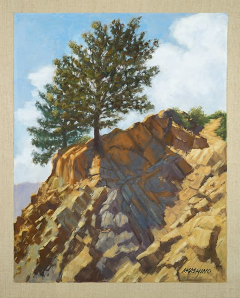 Rock Cliff Trees