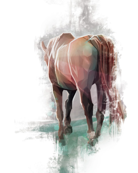 Out To Pasture - Painting