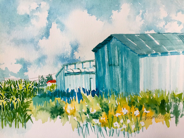 Blue Sky Blue Farm