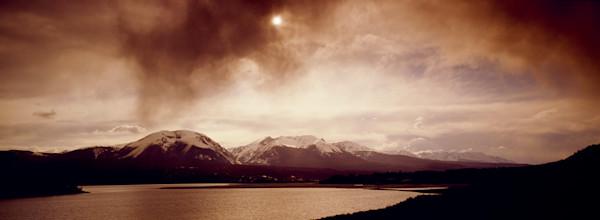 SUM-T073 • Stormm breaking over Lake Dillon & Gore Range