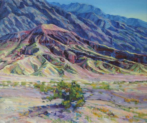 Shop for California desert paintings and prints by Joy Collier of Death Valley National Park and Red Rock Canyon State Park
