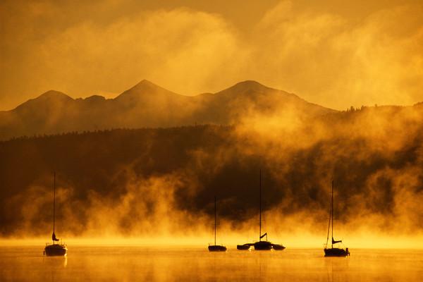 SUM-3360 • Golden Sunrise, Frisco Marina
