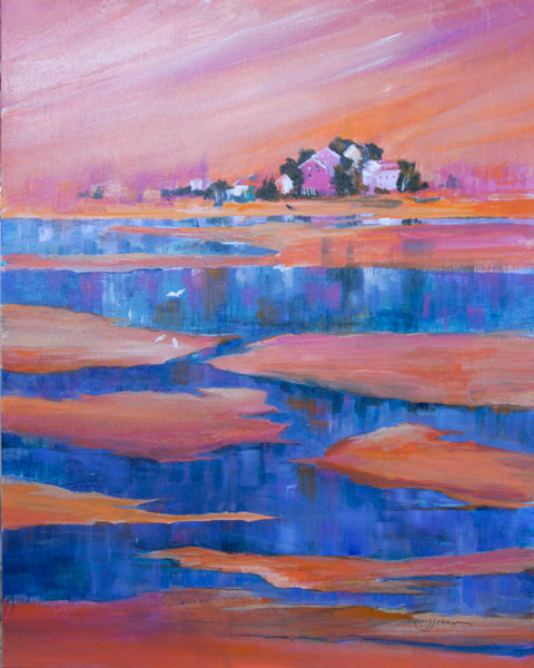 """Tide's Out"" by Judy Johnson 