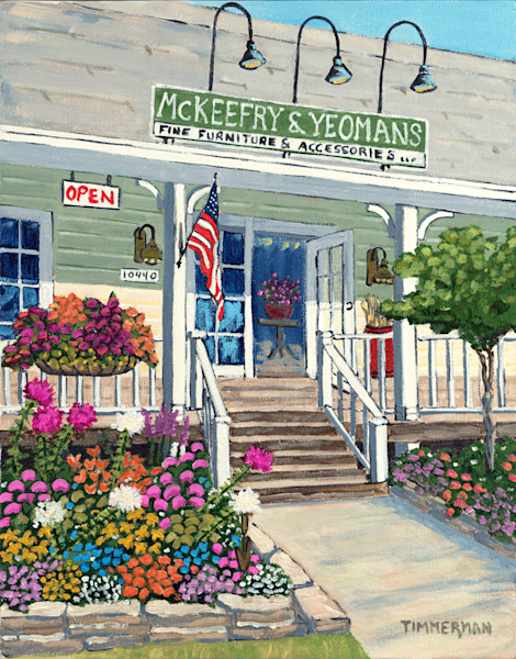 McKeefry &  Yeomans fine art print by Barb Timmerman.