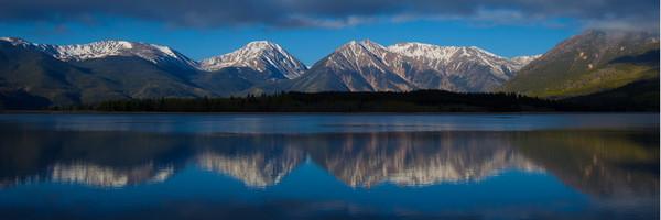 COL-T048 • Sawatch mountan range reflection. Colorado