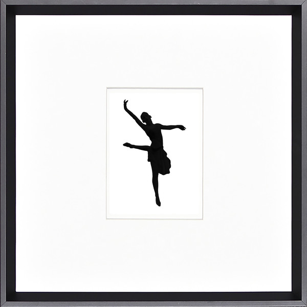 "12"" x 12"" Silhouette Still Motion Art | SavvyArt Market Personalized Art Prints"