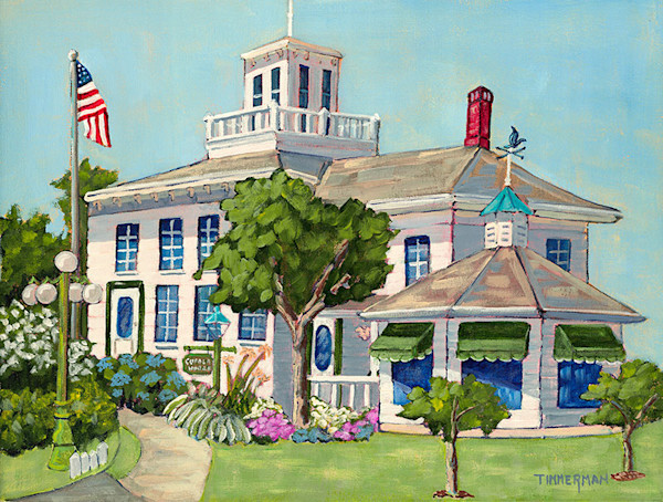 Cupola House fine art print by Barb Timmerman.