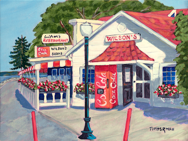 Wilson's 2 fine art print by Barb Timmerman.