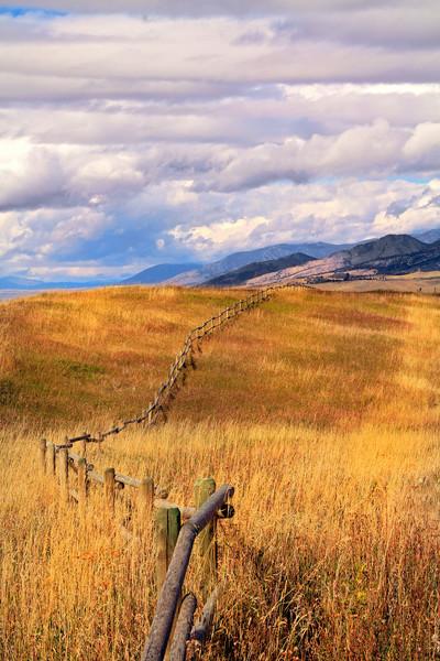 Big Sky Fence Line