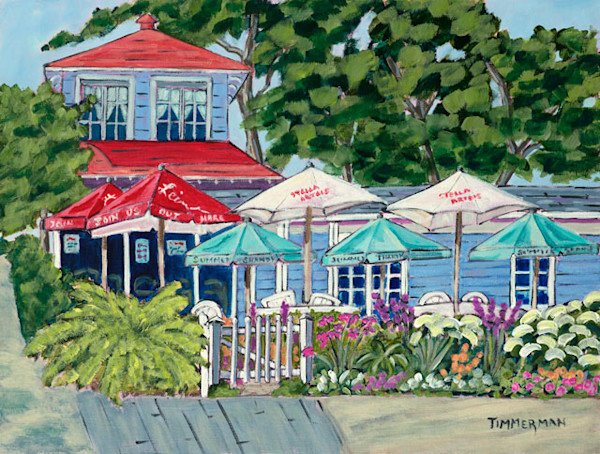 Summer Day at the Summertime fine art print by Barb Timmerman.