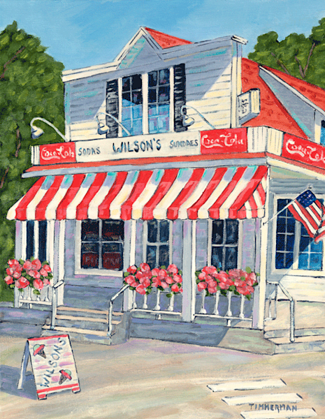 Wilson's fine art print by Barb Timmerman.