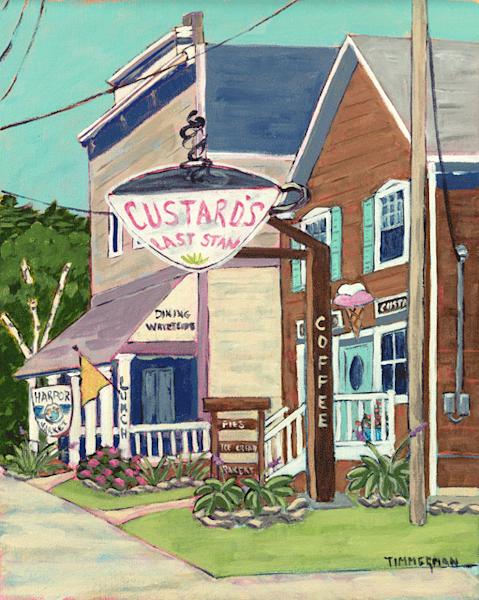 Custard's Last Stan fine art print by Barb Timmerman.