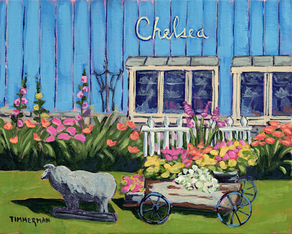 Chelsea fine art print by Barb Timmerman.