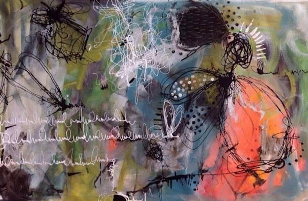Poussières d'Ange by Annie Rodrigue | SavvyArt Market original painting