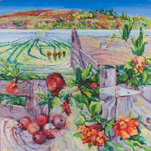 Spring Farm Art | Joy Collier's California Landscape Art