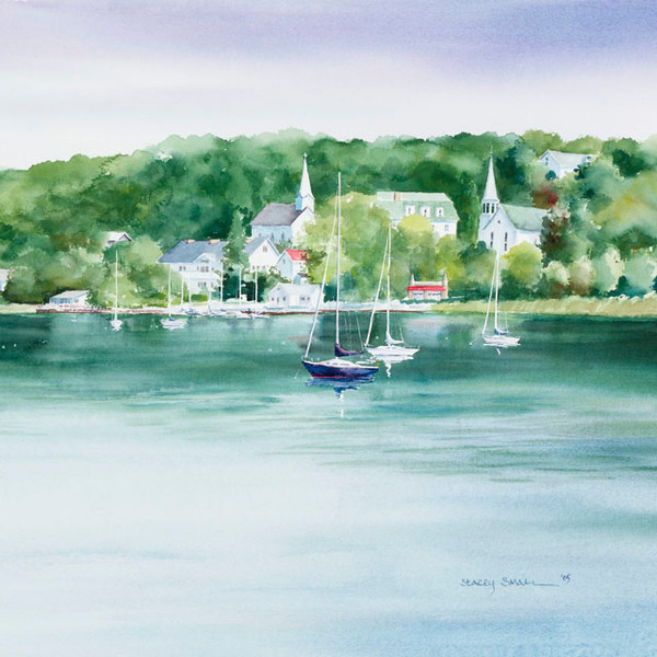 Ephraim Summer square fine art print by Stacey Small Rupp.