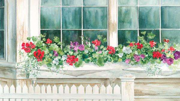 Window Garden fine art print by Stacey Small Rupp.