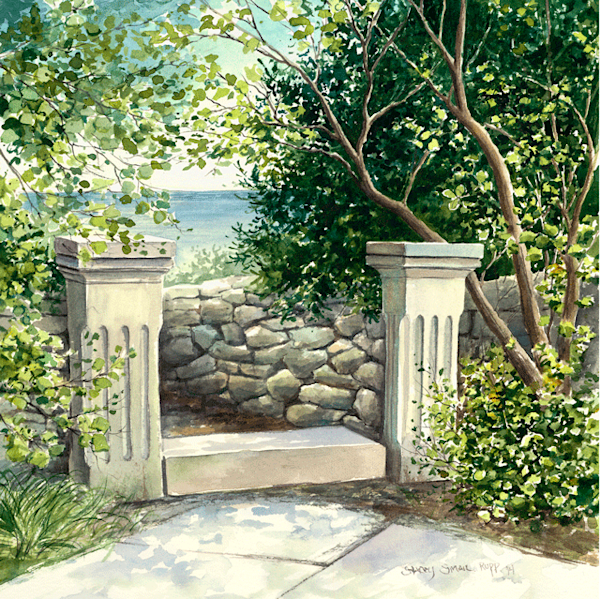 Stone Work on Cana fine art print by Stacey Small Rupp.