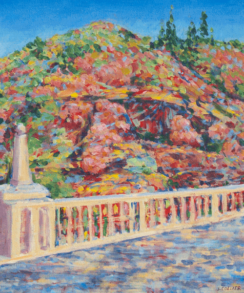 Pumpkin Hollow Bridge Art | Joy Collier's California Landscape Art