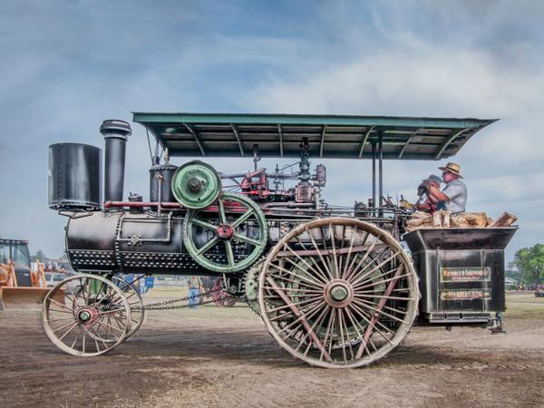 Amazing Fully Restored Nichols Shepard Steam Traction Engine fleblanc