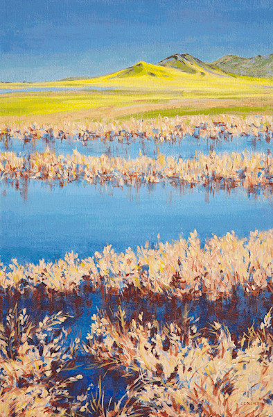 Original Art of the Central Valley in California - One-of-a- Kind Paintings