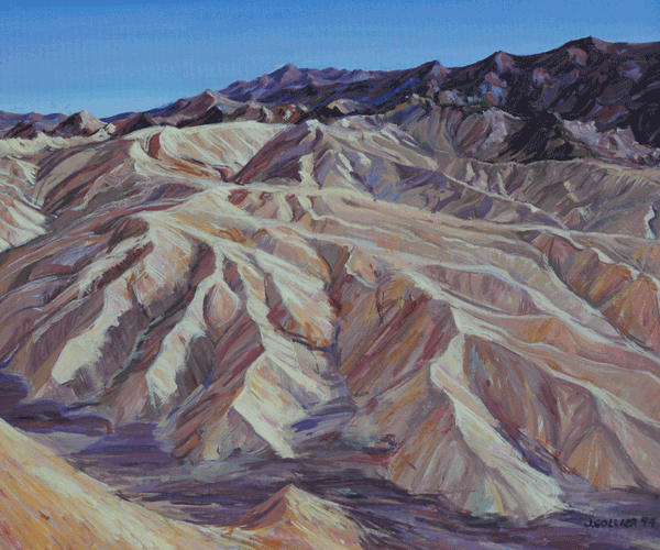 Zabriski Point Art | Joy Collier's California Landscape Art