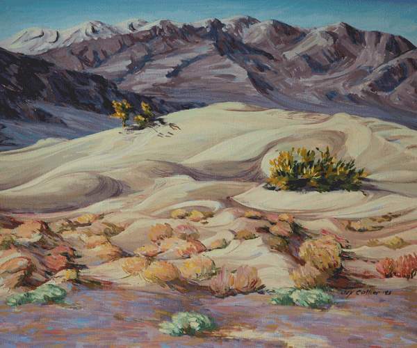 Winter Dunes At Stovepipe Wells Art | Joy Collier's California Landscape Art