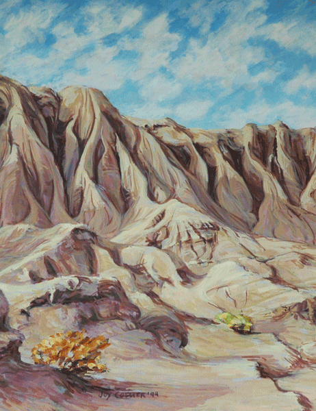 Campsite Red Rock Canyon State Park Art | Joy Collier's California Landscape Art