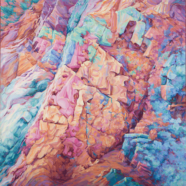 Cracks In Time Art | Joy Collier's California Landscape Art
