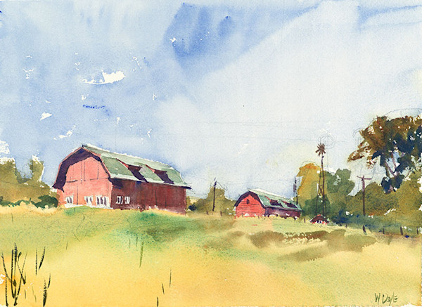 Door County Farm fine art print by Bill Doyle.