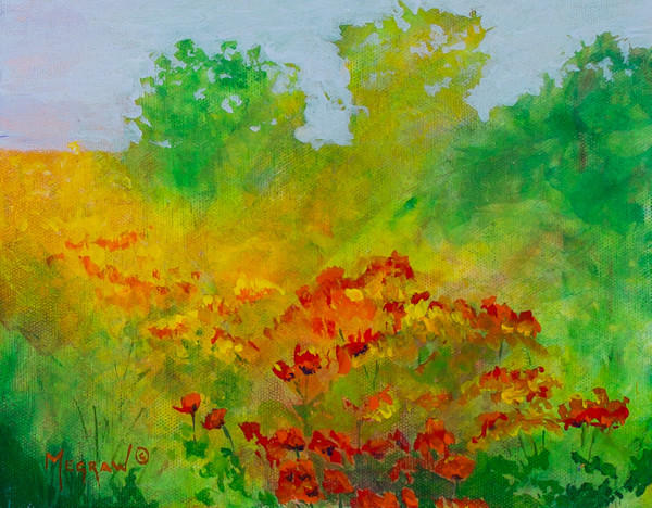 Poppy Field by Pat Megraw