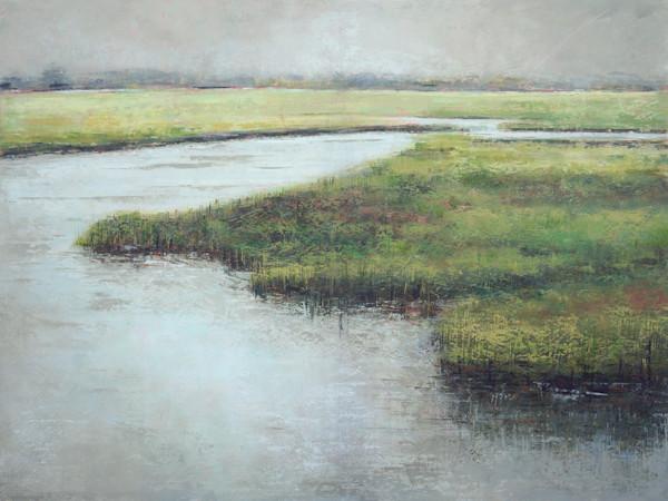 Beaufort Inlet - Marsh Paintings - Landscape Art