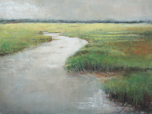 Pamlico Passages - Marsh Painting - Coastal Wall Art
