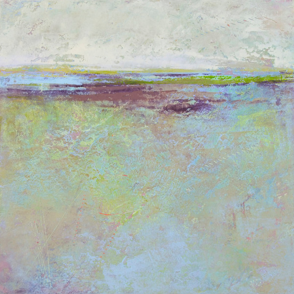 Plum Passages - Ocean Paintings - Coastal Wall Art