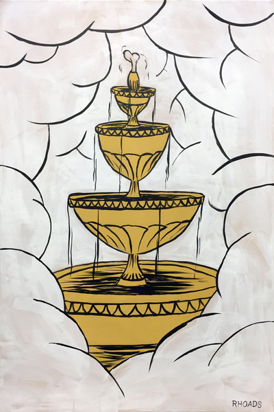 """""""The Fountain of Life"""" by Nathan Rhoads 