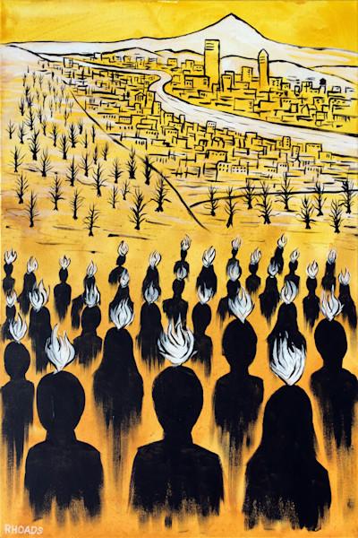 """Set Ablaze"" by Nathan Rhoads | Prophetics Gallery"