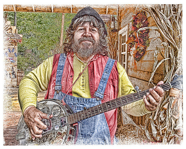 """Banjo Player"""