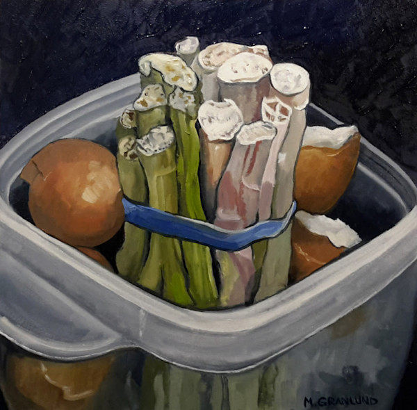 Sinkside Compost 5 Painting by Mark Granlund